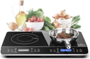 7. Duxtop LCD Portable Double Induction Cooktop