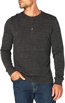#7. Men's Threads 4 Thought – Triblend Long Sleeve Henley