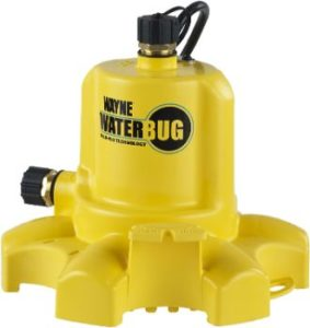 7. WAYNE WWB WaterBUG Submersible Pump