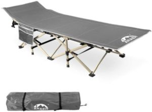 9. Camping Cot, Heavy Duty Cot for Traveling