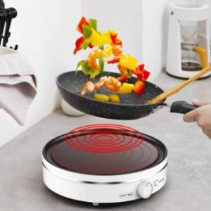 9. Varcul 1300W Portable Electric Induction Cooktop