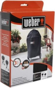 9. Weber Premium 22 inch Charcoal Grill Cover