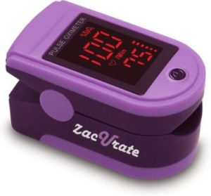9. Zacurate Pro Series 500DL Fingertip Pulse Oximeter