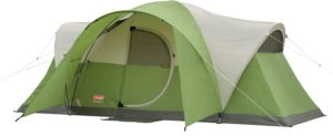 10. Coleman 8-Person Tent for Camping