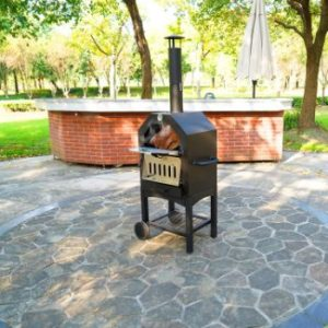 10. Summerville Pizza Oven Outdoor with Stone