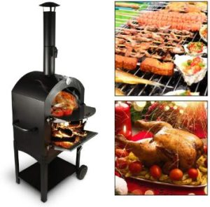 5. Tengchang Outdoor Pizza Oven, Family Camping Cooker
