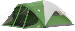 6. Coleman Dome Tent with Screen Room