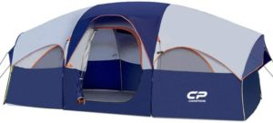 7. CAMPROS Waterproof Windproof 8-Person Camping Tents