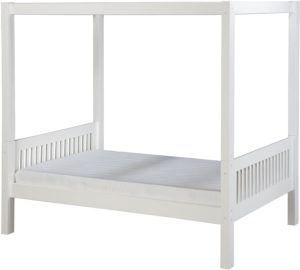 2. Camaflexi Solid Wood Canopy Beds