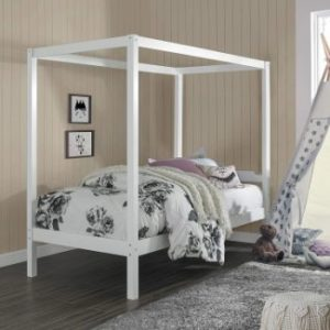 4. Hillsdale Sutton Wood Canopy Bed