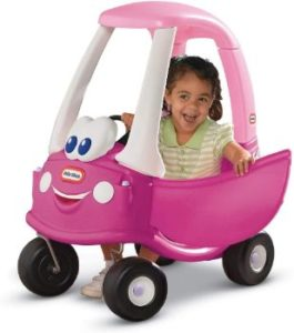5. Little Tikes Princess Cozy Coupe Ride-On Toy