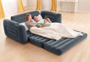 7. Intex Pull-Out Sofa Bed Couch