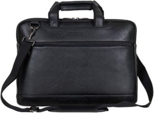 #10. Kenneth Cole Reaction Leather Laptop Briefcase