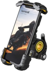 #2. Bike Phone Holder, Motorcycle Phone Mount - Lamicall