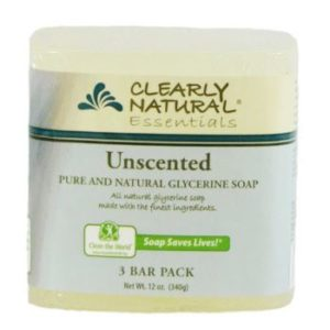 #4. Clearly Natural Glycerine Bar Soap, Unscented