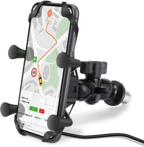 #4. Techjayse Motorcycles Phone Mount