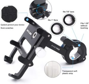#5. GUB Bicycle & Motorcycle Phone Mount