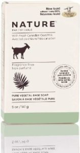 #6. Nature By Canus Bar Soap, Fragrance Free, 5oz