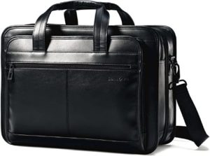 #6. Samsonite Leather Expandable Business Case