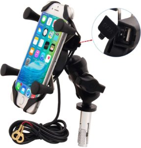 #8. BOYIMU Motorcycles Phone Mount
