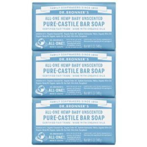 #8. Dr. Bronner's - Pure-Castile Bar Soap