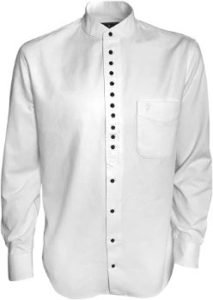#8. The Celtic Ranch Traditional Irish Grandfather Collarless Shirt