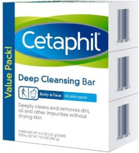 #9. Cetaphil Deep Cleansing Face & Body Bar