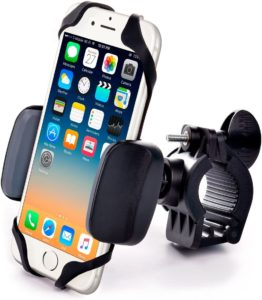#9. Metal Bike & Motorcycle Phone Mount